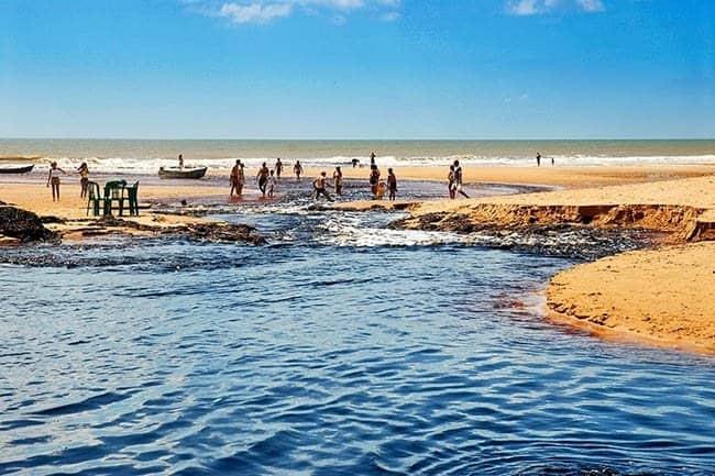 lugares para viajar a dois Conceição da Barra